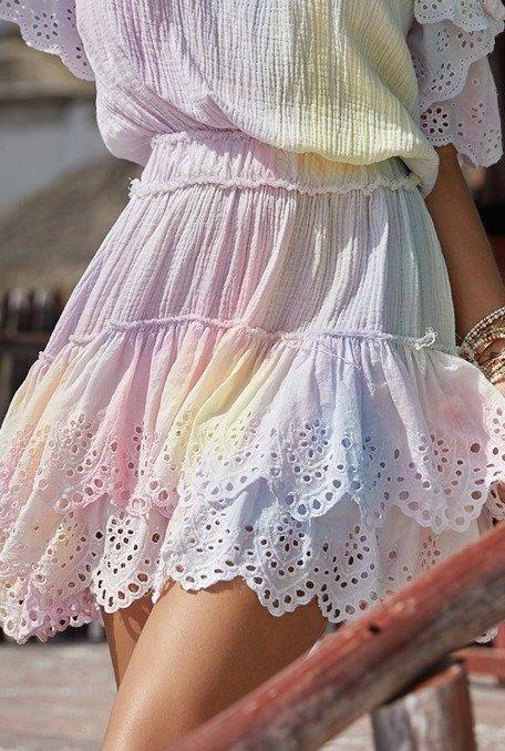 Sunset - Sukienka w stylu boho o długości mini