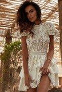 Oria - Sukienka w odcieniu śmietankowym