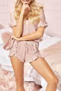 Piżama Sagitta - komplecik w odcieniu brudnego różu